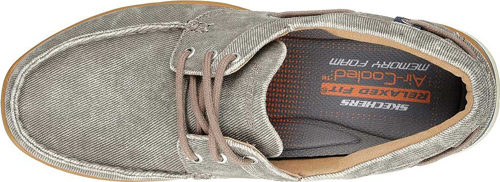 Men's Skechers Relaxed Fit Elected Horizon Boat Shoe, Light Brown, large, image 5