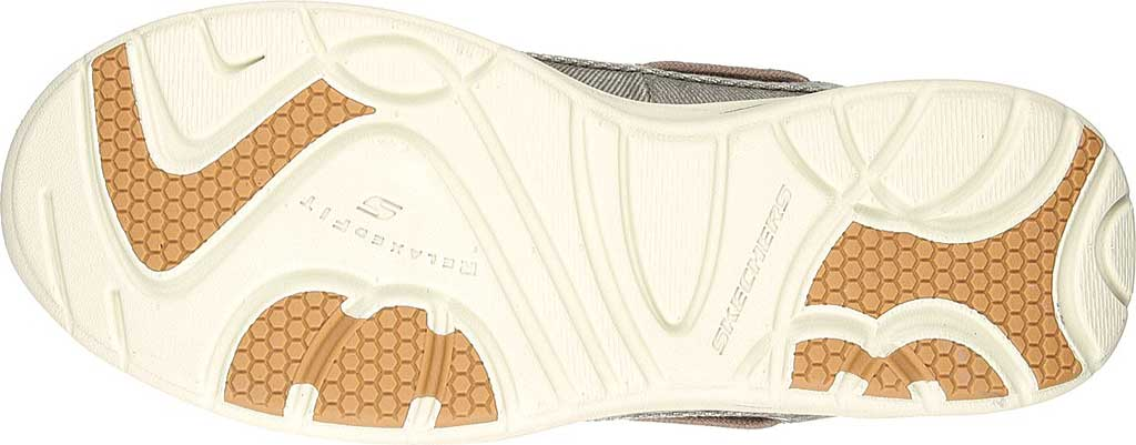 Men's Skechers Relaxed Fit Elected Horizon Boat Shoe, Light Brown, large, image 6
