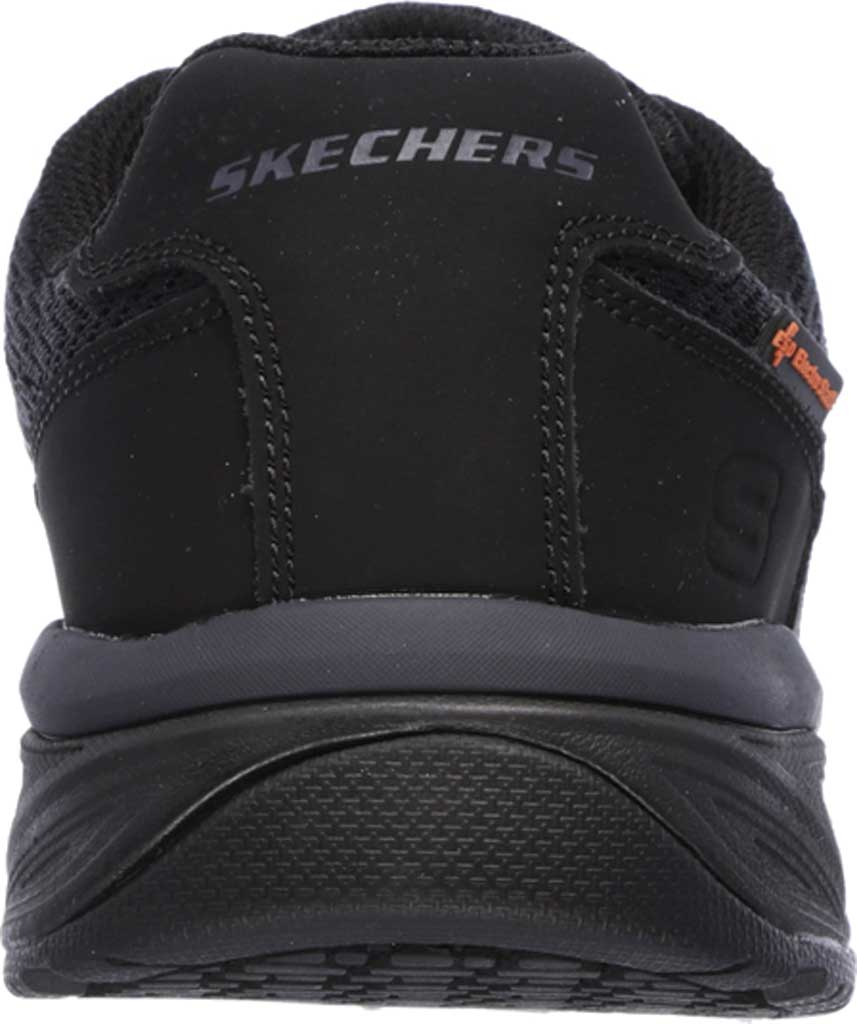 Men's Skechers Work Relaxed Fit Conroe Searcy ESD Work Sneaker, Black, large, image 4