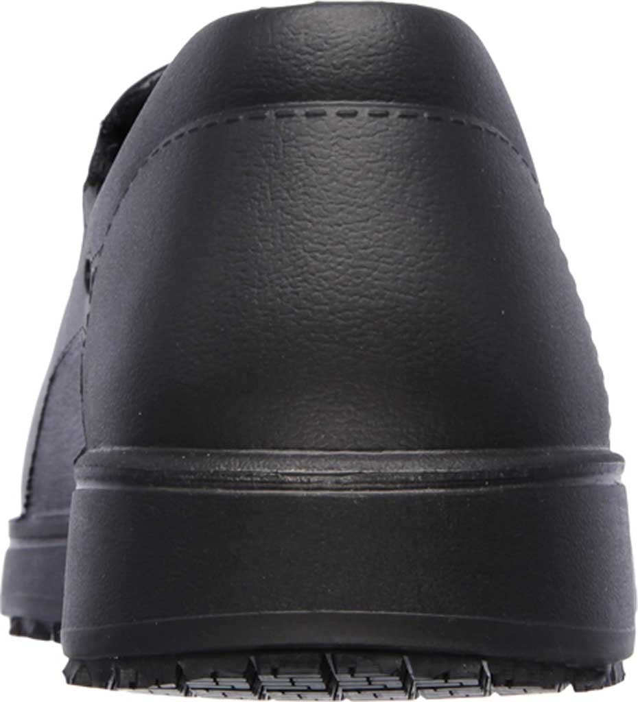 Men's Skechers Work Relaxed Fit Lorman Slip Resistant Loafer, Black, large, image 4