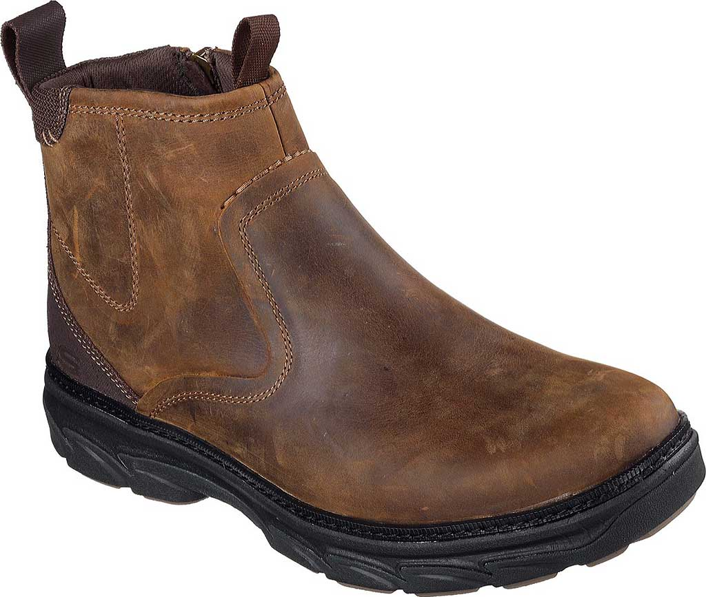 Men's Skechers Relaxed Fit Resment Korver Ankle Boot, , large, image 1