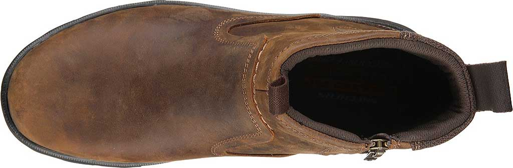 Men's Skechers Relaxed Fit Resment Korver Ankle Boot, , large, image 5