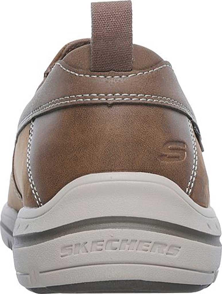 Men's Skechers Relaxed Fit Harper Forde Loafer, Desert Brown, large, image 4