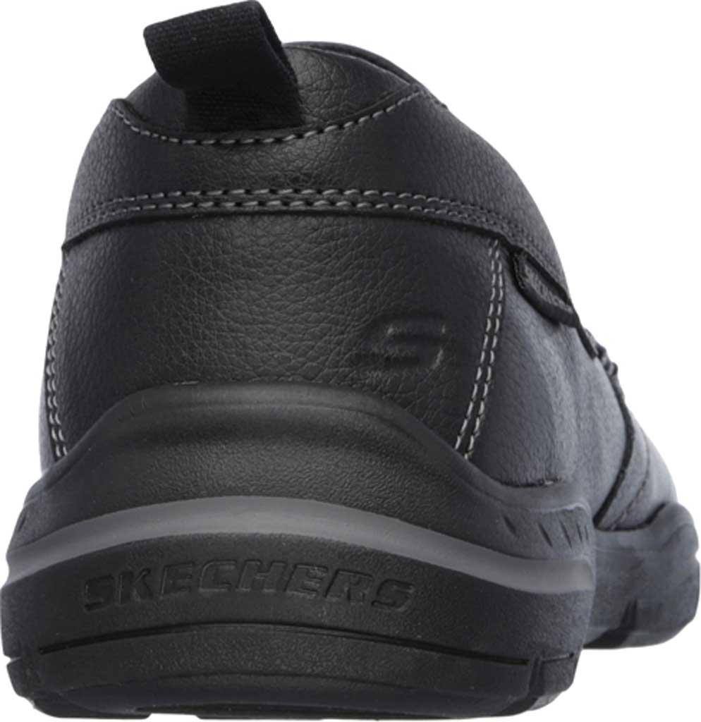 Men's Skechers Relaxed Fit Harper Forde Loafer, Black, large, image 4
