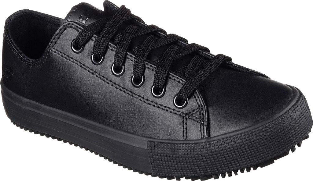 Women's Skechers Work Relaxed Fit Arispel Slip Resistant Sneaker, Black, large, image 1