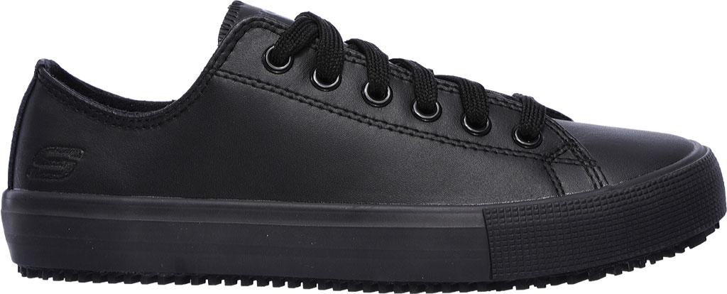 Women's Skechers Work Relaxed Fit Arispel Slip Resistant Sneaker, Black, large, image 2