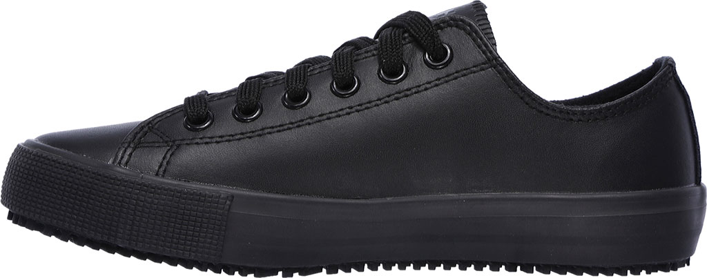 Women's Skechers Work Relaxed Fit Arispel Slip Resistant Sneaker, Black, large, image 3