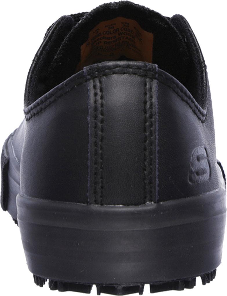 Women's Skechers Work Relaxed Fit Arispel Slip Resistant Sneaker, Black, large, image 4