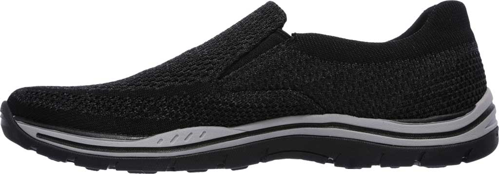 Men's Skechers Relaxed Fit Expected Gomel Slip On Sneaker, Black, large, image 3