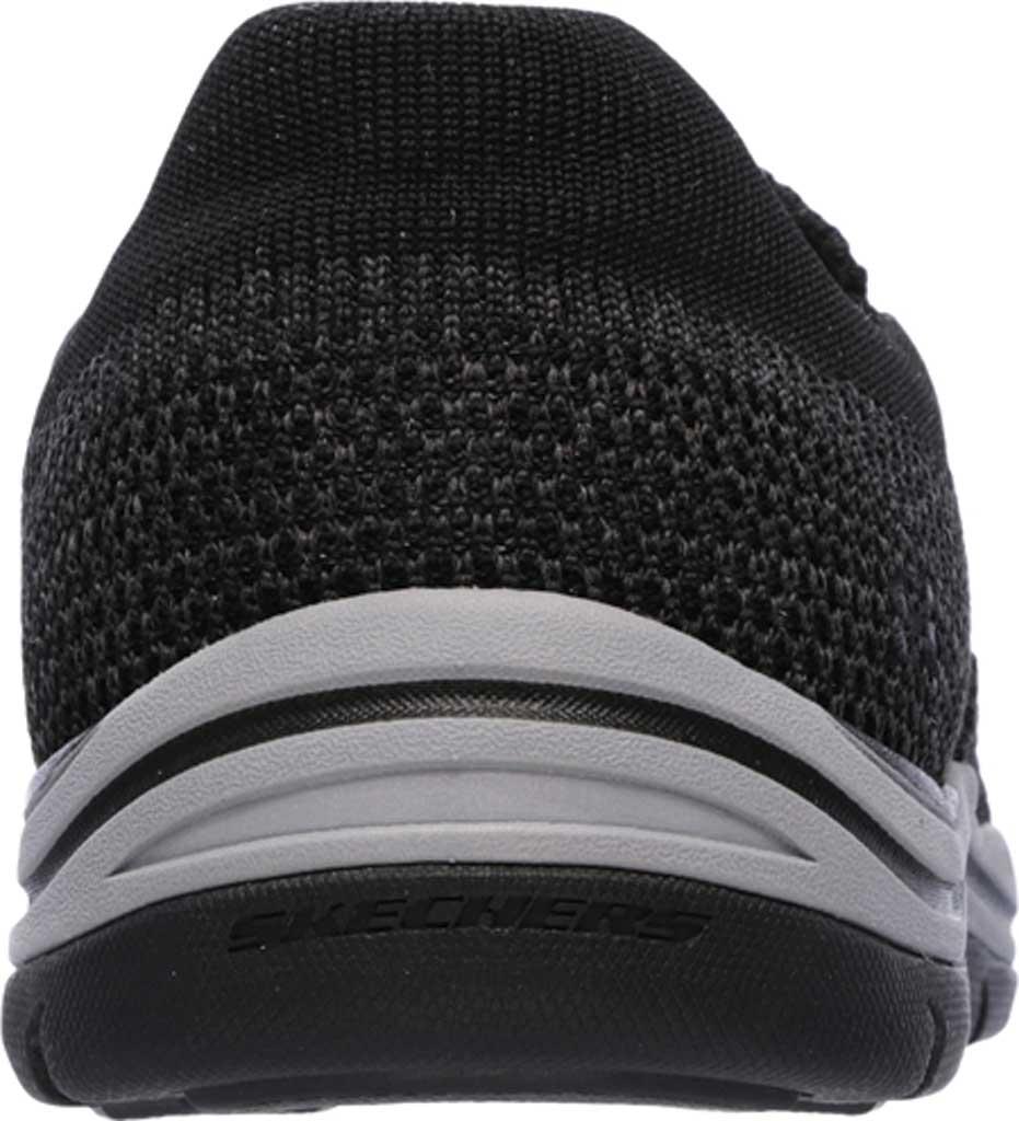 Men's Skechers Relaxed Fit Expected Gomel Slip On Sneaker, Black, large, image 4