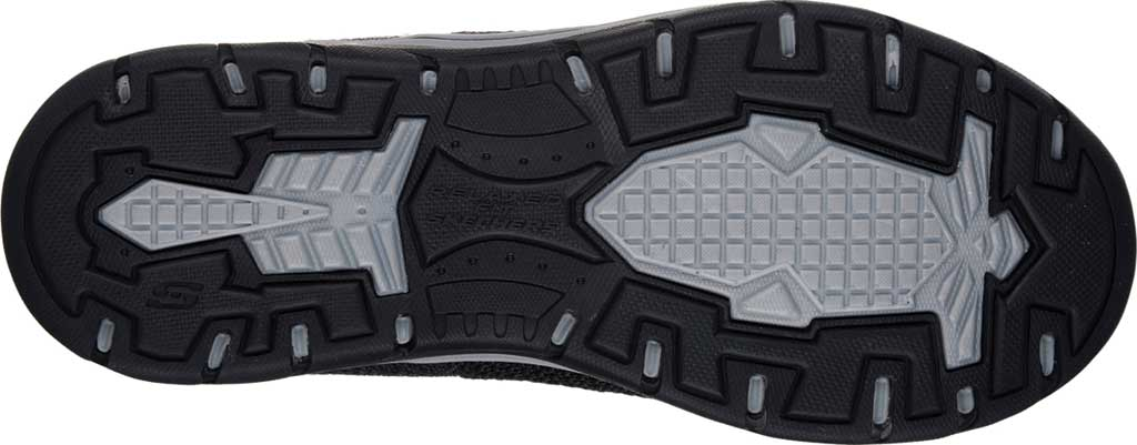 Men's Skechers Relaxed Fit Expected Gomel Slip On Sneaker, Black, large, image 6
