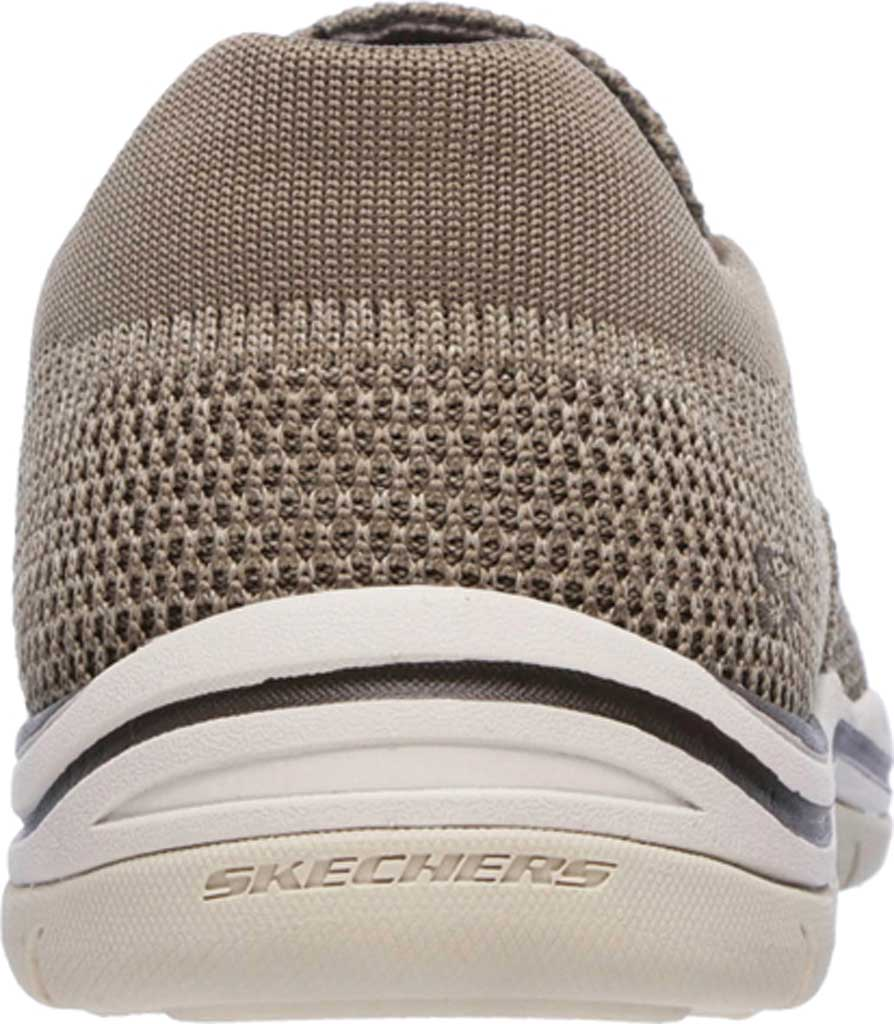 Men's Skechers Relaxed Fit Expected Gomel Slip On Sneaker, Taupe, large, image 4