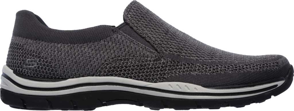 Men's Skechers Relaxed Fit Expected Gomel Slip On Sneaker, Gray, large, image 2