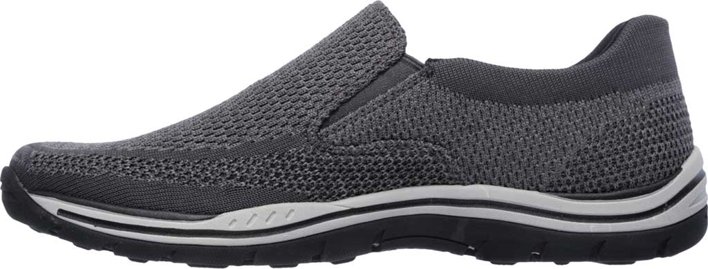 Men's Skechers Relaxed Fit Expected Gomel Slip On Sneaker, Gray, large, image 3