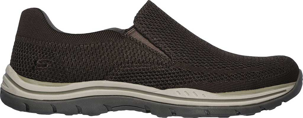 Men's Skechers Relaxed Fit Expected Gomel Slip On Sneaker, Olive/Brown, large, image 2