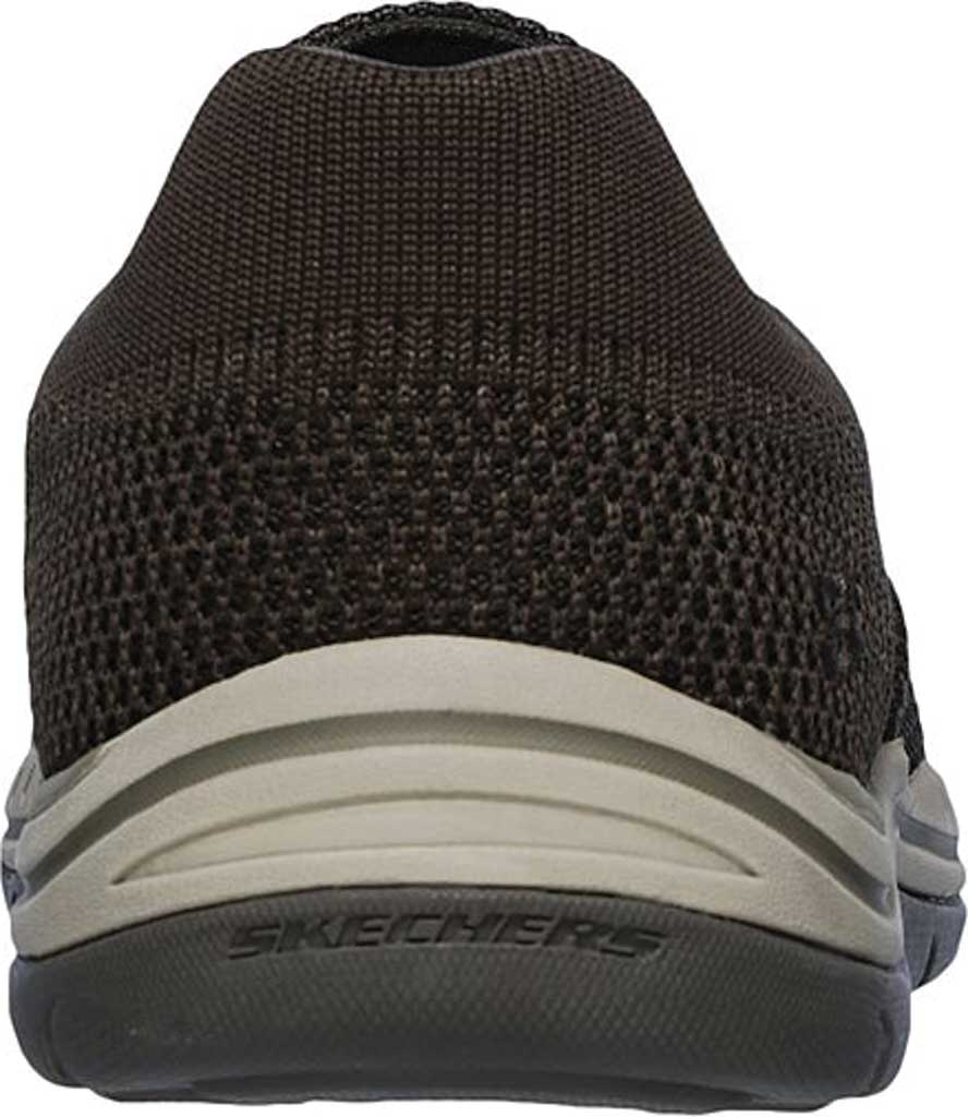 Men's Skechers Relaxed Fit Expected Gomel Slip On Sneaker, Olive/Brown, large, image 4