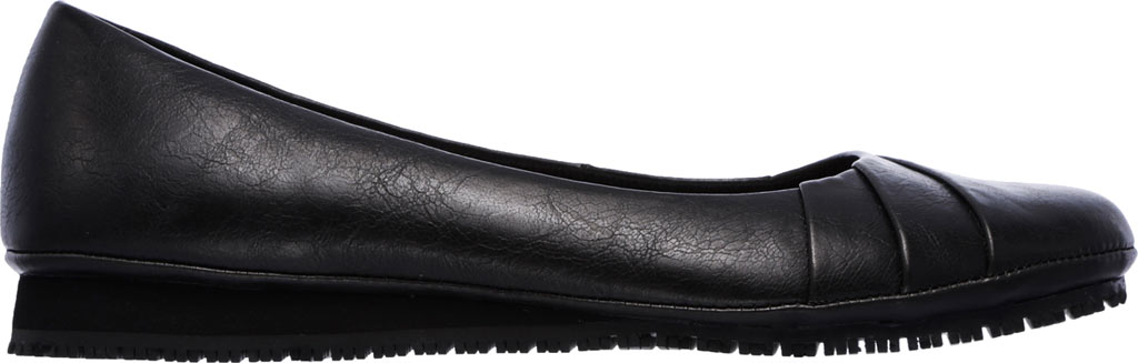 Women's Skechers Work Kincaid Callao Slip Resistant Work Flat, Black, large, image 2