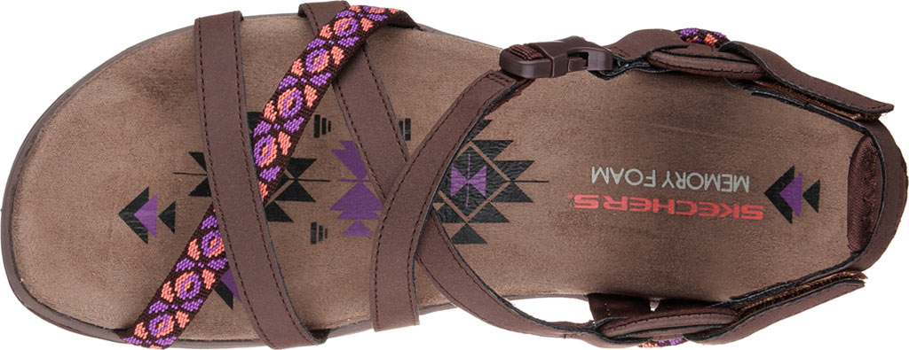 Women's Skechers Reggae Slim Vacay Sandal, , large, image 5