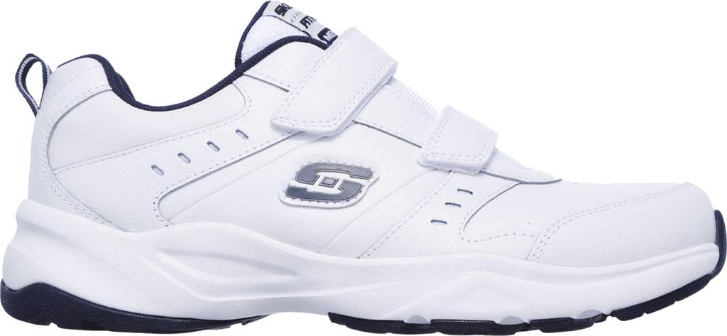 Men's Skechers Haniger Casspi Training Sneaker, White/Navy, large, image 2