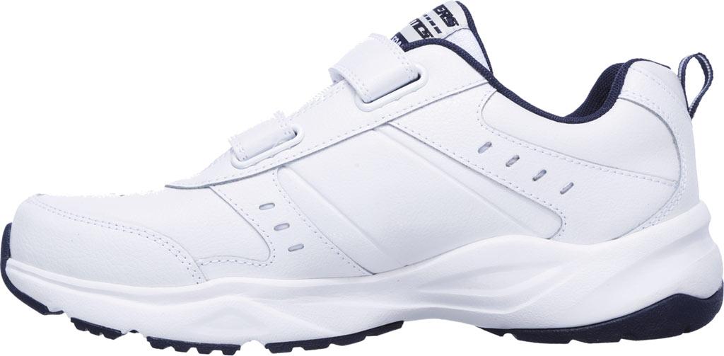 Men's Skechers Haniger Casspi Training Sneaker, White/Navy, large, image 3