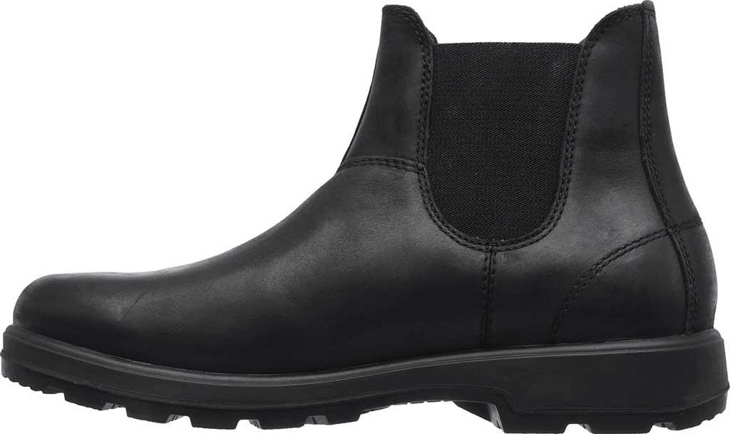 Men's Skechers Relaxed Fit Molton Gaveno Chelsea Boot, Black/Black, large, image 3