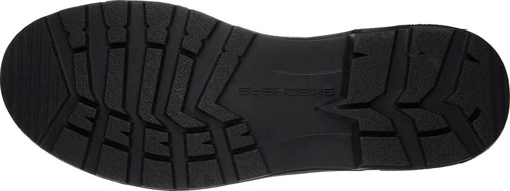 Men's Skechers Relaxed Fit Molton Gaveno Chelsea Boot, Black/Black, large, image 6