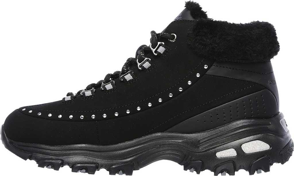 Women's Skechers D'Lites Gleeful Ankle Boot, Black, large, image 3