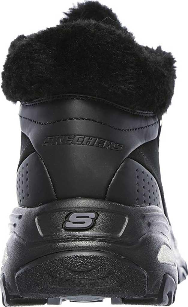 Women's Skechers D'Lites Gleeful Ankle Boot, Black, large, image 4