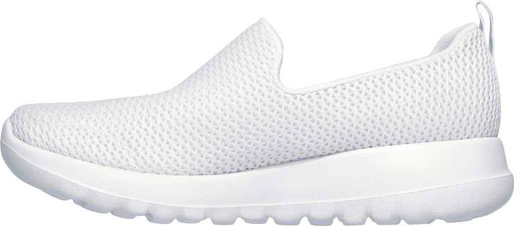 Women's Skechers GOwalk Joy Walking Slip On Sneaker, White, large, image 3