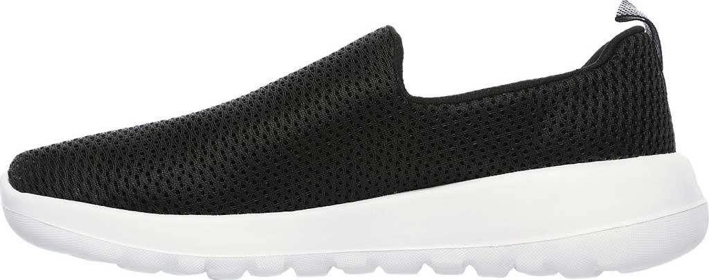 Women's Skechers GOwalk Joy Walking Slip On Sneaker, Black/White, large, image 3