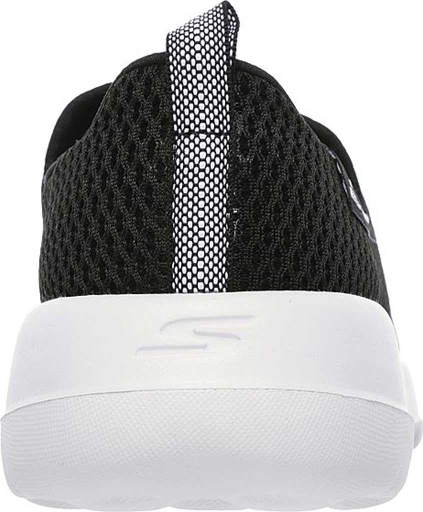 Women's Skechers GOwalk Joy Walking Slip On Sneaker, Black/White, large, image 4