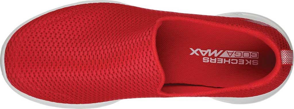 Women's Skechers GOwalk Joy Walking Slip On Sneaker, Red, large, image 5