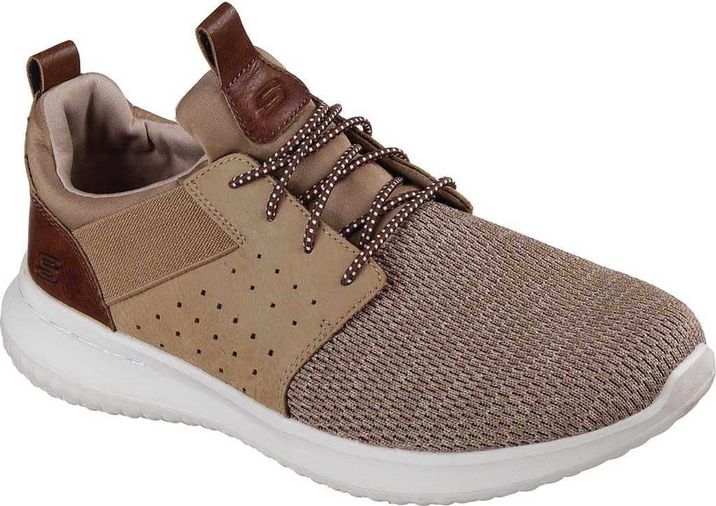 Men's Skechers Delson Camben Slip On Sneaker, Light Brown, large, image 1