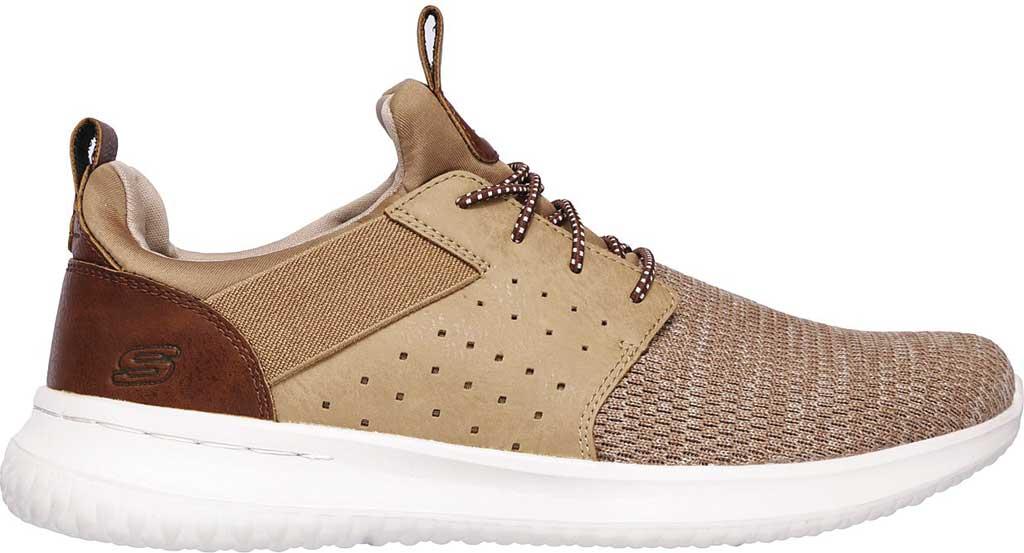 Men's Skechers Delson Camben Slip On Sneaker, Light Brown, large, image 2