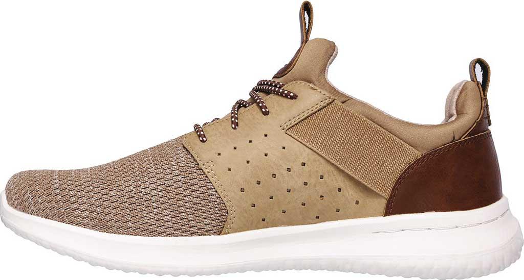 Men's Skechers Delson Camben Slip On Sneaker, Light Brown, large, image 3