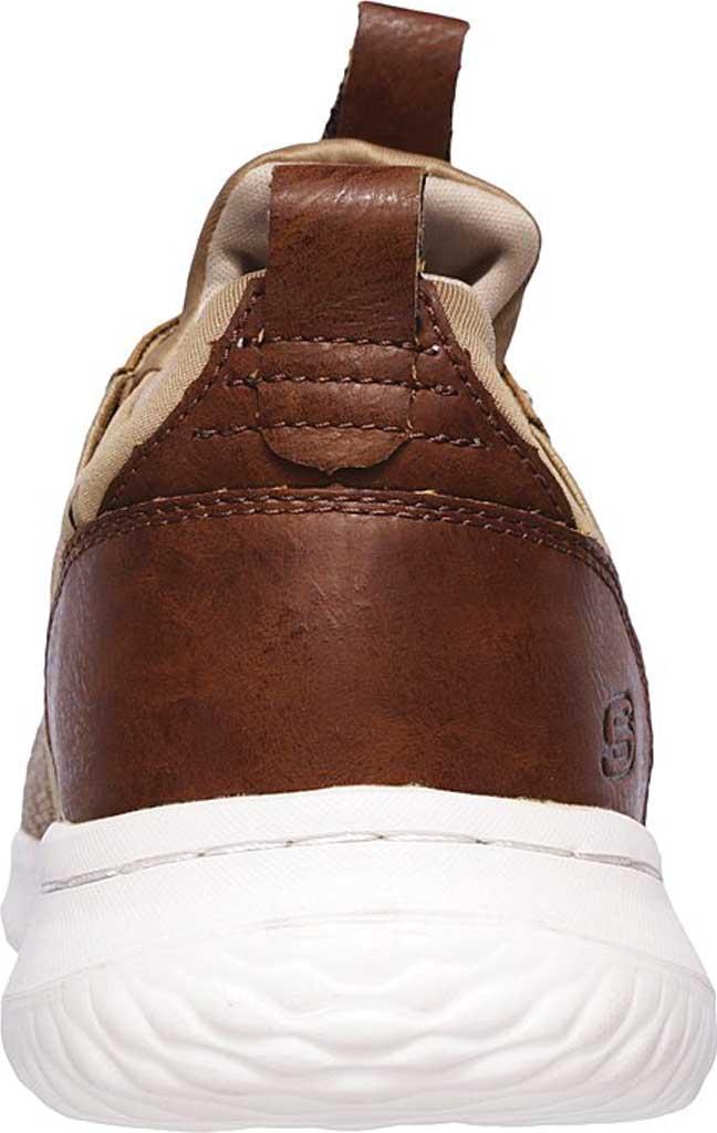 Men's Skechers Delson Camben Slip On Sneaker, Light Brown, large, image 4