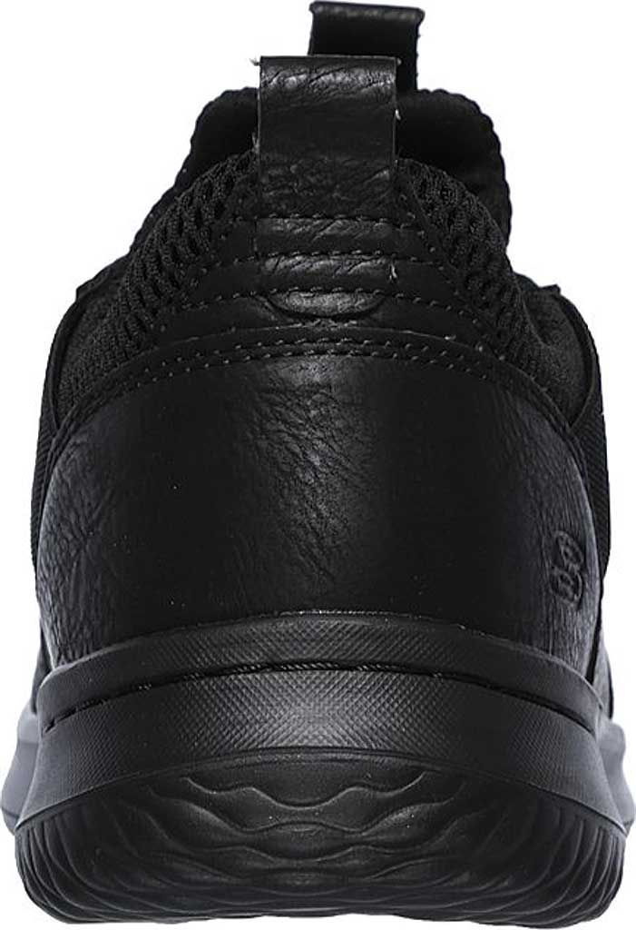 Men's Skechers Delson Camben Slip On Sneaker, Black/Black, large, image 4