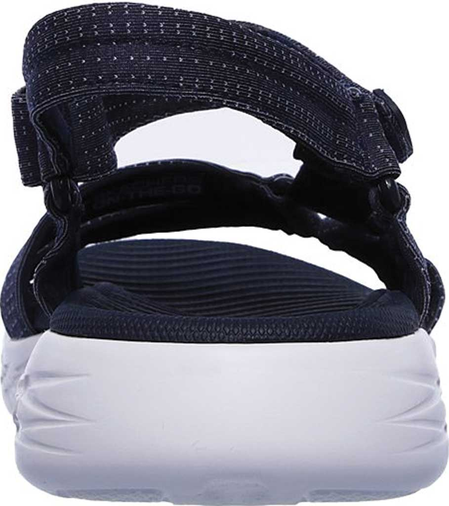Women's Skechers On the GO 600 Brilliancy Ankle Strap Sandal, Navy, large, image 4