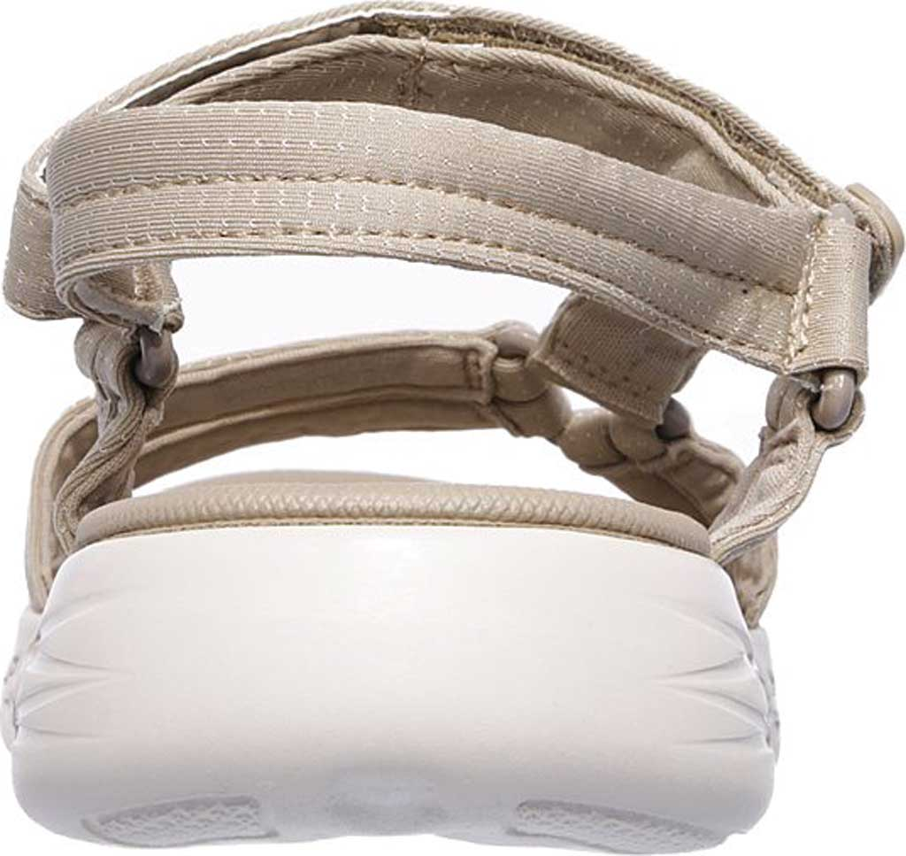 Women's Skechers On the GO 600 Brilliancy Ankle Strap Sandal, Natural, large, image 4
