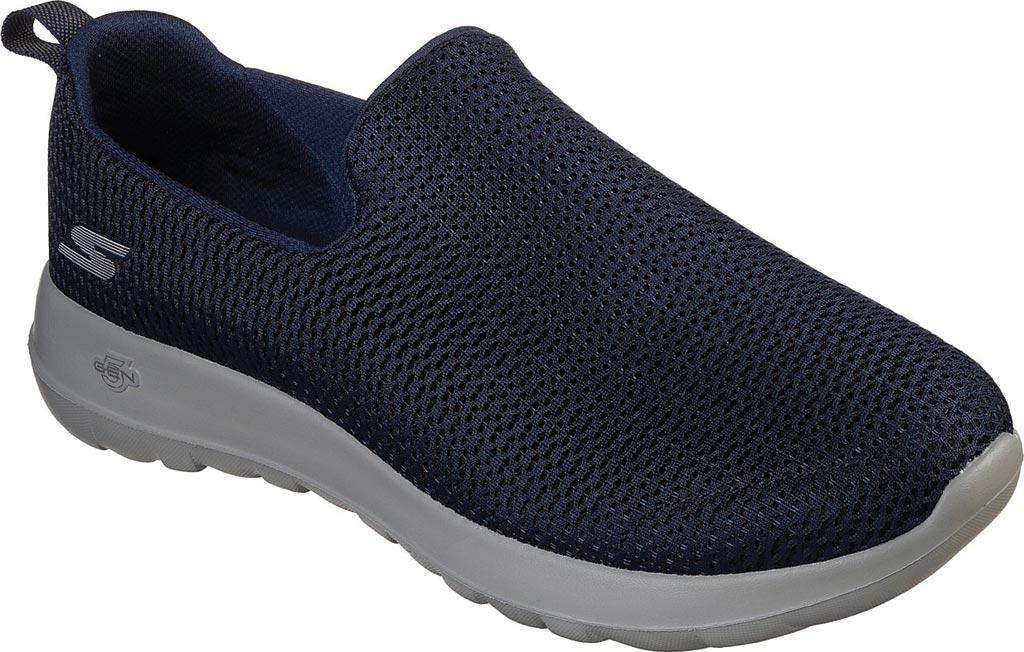 Men's Skechers GOwalk Max Slip-On Walking Shoe, Navy/Gray, large, image 1