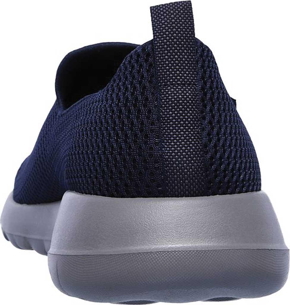 Men's Skechers GOwalk Max Slip-On Walking Shoe, Navy/Gray, large, image 4