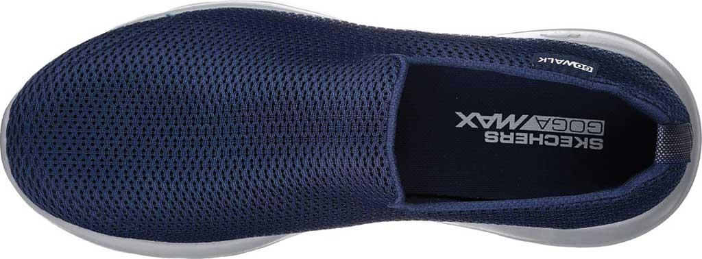 Men's Skechers GOwalk Max Slip-On Walking Shoe, Navy/Gray, large, image 5
