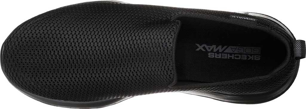 Men's Skechers GOwalk Max Slip-On Walking Shoe, Black/Black, large, image 5