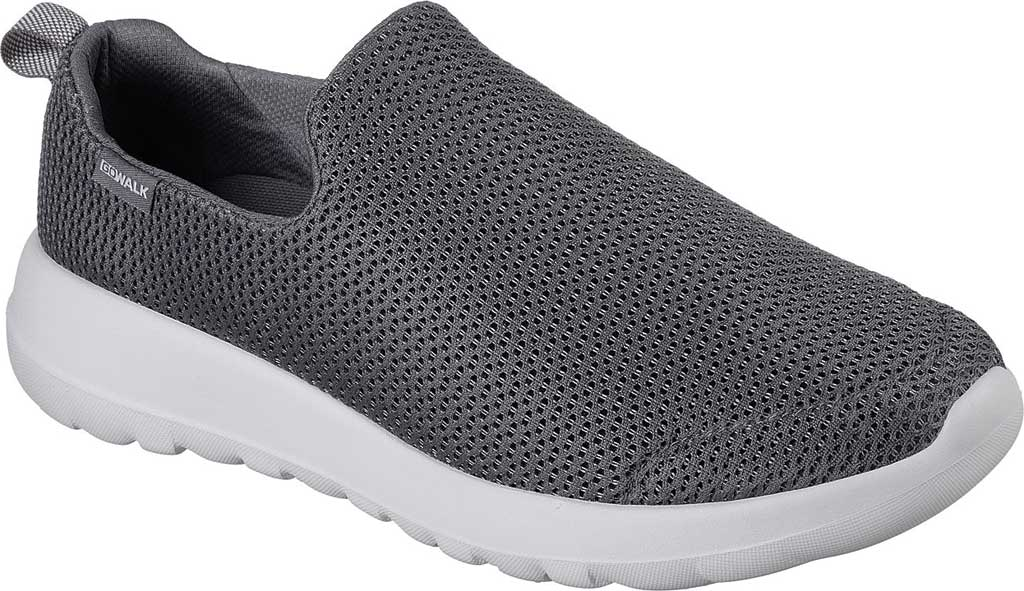 Men's Skechers GOwalk Max Slip-On Walking Shoe, Charcoal, large, image 1