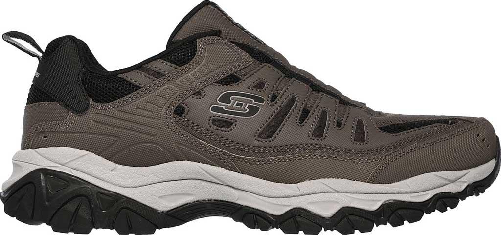 Men's Skechers After Burn M. Fit Slip On Walking Shoe, Brown, large, image 2