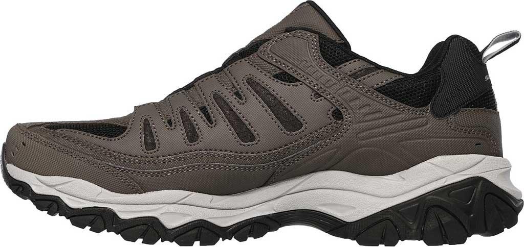 Men's Skechers After Burn M. Fit Slip On Walking Shoe, Brown, large, image 3