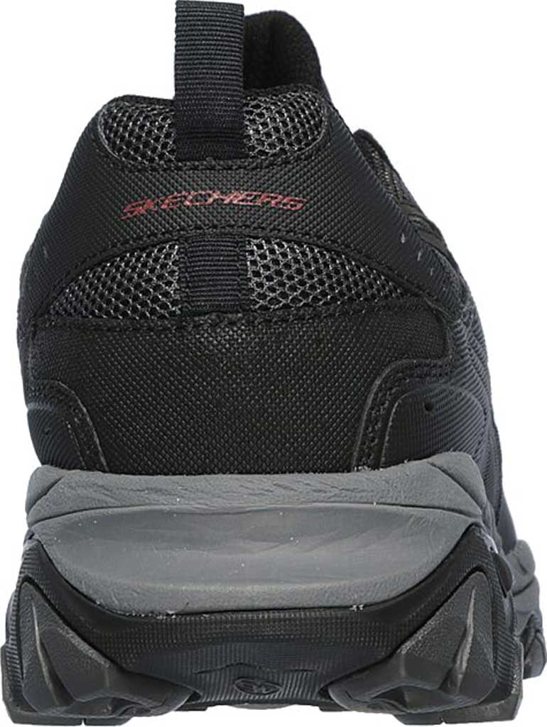 Men's Skechers After Burn M. Fit Slip On Walking Shoe, Black/Charcoal, large, image 4