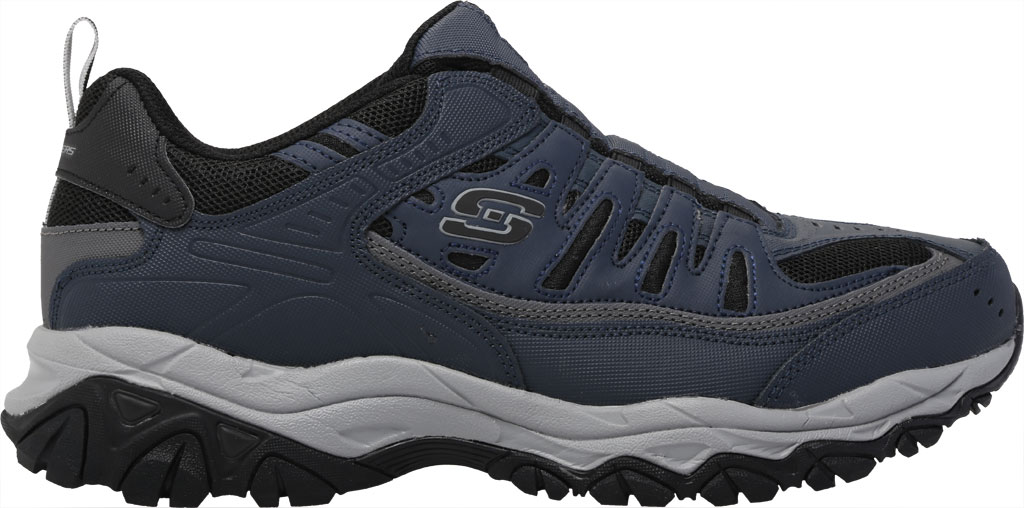 Men's Skechers After Burn M. Fit Slip On Walking Shoe, Navy/Black, large, image 2