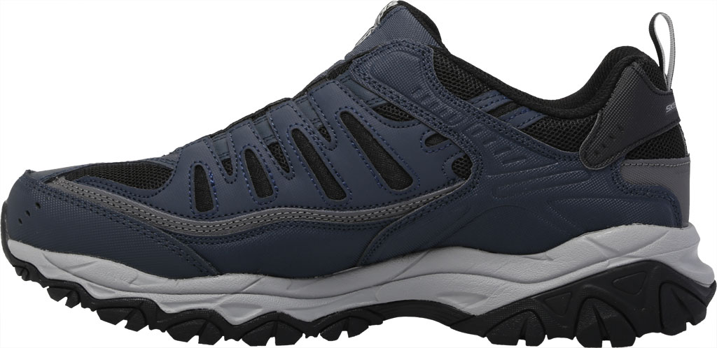 Men's Skechers After Burn M. Fit Slip On Walking Shoe, Navy/Black, large, image 3