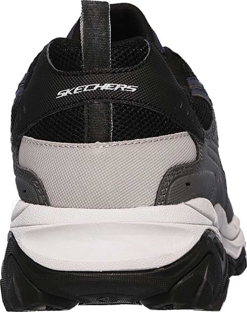 Men's Skechers After Burn M. Fit Slip On Walking Shoe, Navy/Gray, large, image 4